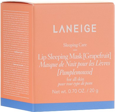 Нощна маска за устни с грейпфрут - Laneige Lip Sleeping Mask Grapefruit