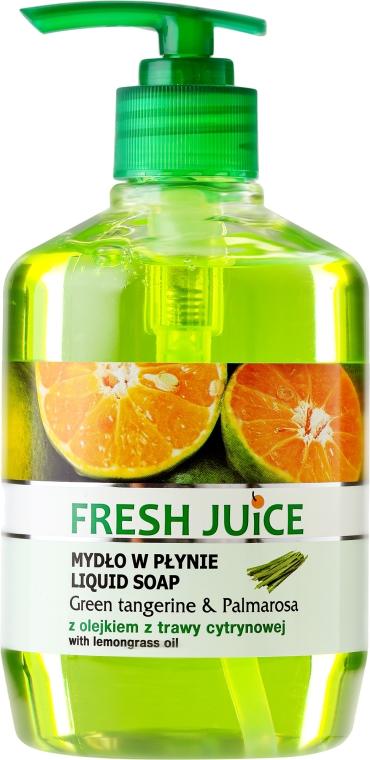 Течен сапун с глицерин - Fresh Juice Green Tangerine & Palmarosa — снимка N1
