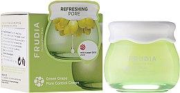 Парфюмерия и Козметика Себорегулиращ крем за лице - Frudia Pore Control Green Grape Cream