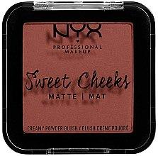 Парфюмерия и Козметика Матов руж за лице - NYX Professional Makeup Sweet Cheeks Matte Blush