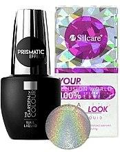 Парфюми, Парфюмерия, козметика Холограмен ефект - Silcare Nail Liquid Prismatic Effect
