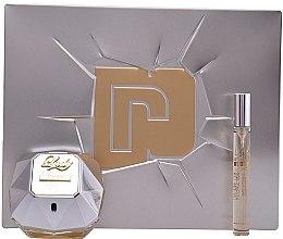 Парфюми, Парфюмерия, козметика Paco Rabanne Lady Million Lucky - Комплект парфюмна вода (edp/80ml + edp/10ml)