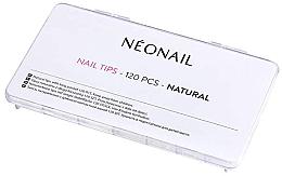 Парфюмерия и Козметика Изкуствени нокти с естествен цвят - NeoNail Professional Nail Tips Natural