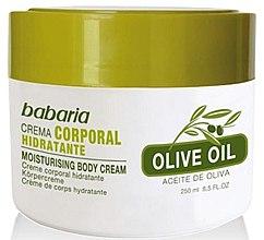 Парфюми, Парфюмерия, козметика Хидратиращ крем за тяло с маслиново масло - Babaria Fragrances Moisturising Body Cream With Olive Oil