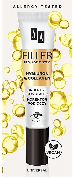Коректор за очи - AA Filler Under Eye Concealer