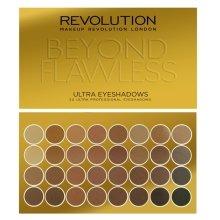 Парфюмерия и Козметика Палитра сенки за очи, 32 цвята - Makeup Revolution Ultra 32 Shade Palette Beyond Flawless