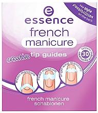 Парфюмерия и Козметика Шаблони за френски маникюр - Essence French Manicure Creative Tip Guides