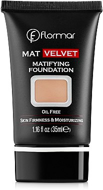 Матиращ фон дьо тен - Flormar Mat Velvet Matifying Foundation