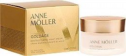 Парфюмерия и Козметика Нощен крем за лице - Anne Moller Goldage Restructuring Night Cream