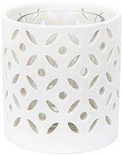 Парфюмерия и Козметика Поставка за свещи - Yankee Candle Ceramic Circle Votive Holder