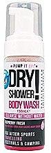 Парфюми, Парфюмерия, козметика Пяна за сухо почистване на тяло с аромат на малина - Pump It Up Dry Shower Body Wash Raspberry