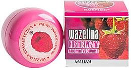 Парфюмерия и Козметика Вазелин за устни с аромат на малина - Kosmed Flavored Jelly Raspberry