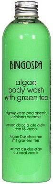 "Енергизиращ душ гел ""Морски водорасли"" със зелен чай - BingoSpa Algae Energizing Body Wash Whit Green Tea"