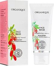 Парфюмерия и Козметика Антистарееща маска за лице - Organique Goji Anti-Ageing Therapy Face Mask
