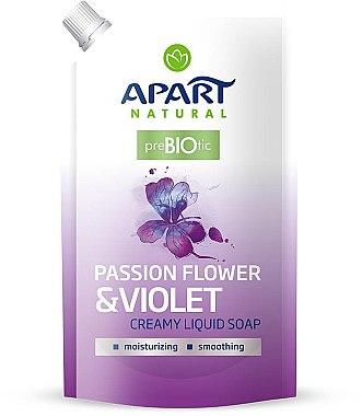 """Течен сапун """"Пасифлора и теменужка"""" - Apart Natural Passion Flower & Violet Soap (пълнител)"""