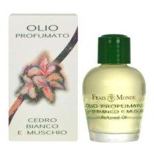 Парфюми, Парфюмерия, козметика Парфюмно масло - Frais Monde White Cedar And Musk Perfumed Oil