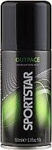 Парфюмерия и Козметика Спрей дезодорант за тяло - SportStar Outpace Deodorant Body Spray