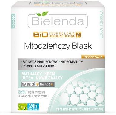 Крем за лице с ултра-овлажняващ ефект - Bielenda Biotechnologia 7D Face Cream