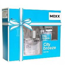 Парфюмерия и Козметика Mexx City Breeze For Him - Комплект (тоал. вода/30ml + душ гел/50ml)