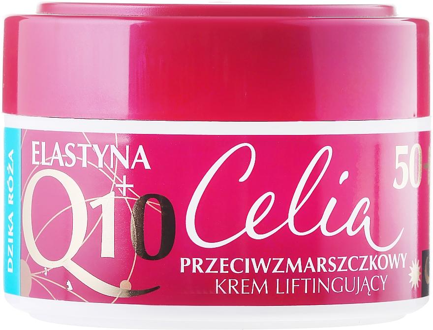 """Лифтинг крем """"Дива роза"""" - Celia Q10 Face Cream 50+"""