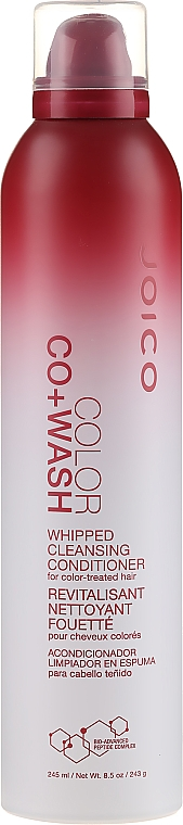 Почистващ балсам за боядисана коса - Joico Color Co+Wash Whipped Cleansing Conditioner for Color-Treated Hair — снимка N1