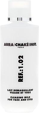 Почистващо мляко за лице и очи - Aura Chake Cleansing Milk Face & Eyes — снимка N2