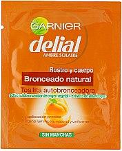Парфюми, Парфюмерия, козметика Автобронзиращи кърпички - Garnier Ambre Solaire Delial Self-Tanning Towel