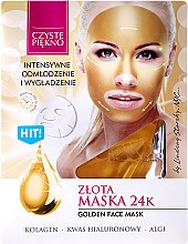 "Парфюми, Парфюмерия, козметика Маска за лице ""Златна"" - Czyste Piekno Gold Face Mask"