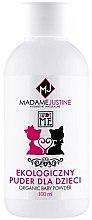 Парфюми, Парфюмерия, козметика Детска пудра за тяло - Madame Justine Sweet Me Organic Baby Powder