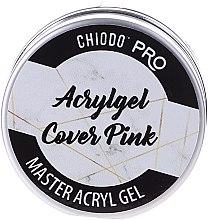 Парфюмерия и Козметика Гел за нокти, розов - Chiodo Pro Acryl Gel Cover Pink