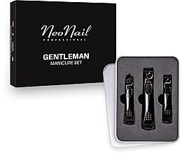 Парфюмерия и Козметика Комплект за маникюр за мъже - NeoNail Professional Gentleman Manicure Set