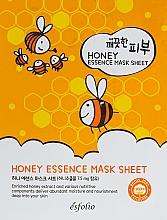 Парфюмерия и Козметика Памучна маска за лице с мед - Esfolio Pure Skin Essence Mask Sheet Honey