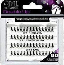 Парфюми, Парфюмерия, козметика Комплект мигли на снопчета - Ardell Duralash Knotted Double Flares Short Black