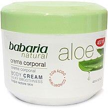 Парфюми, Парфюмерия, козметика Възстановяващ крем за тяло - Babaria Aloe Vera 20%