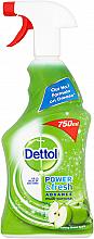 Парфюмерия и Козметика Антибактериален спрей - Dettol Trigger Power & Fresh Refreshing Green Apple