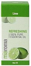 """Парфюмерия и Козметика Етерично масло """"Лайм"""" - Holland & Barrett Miaroma Lime Pure Essential Oil"""