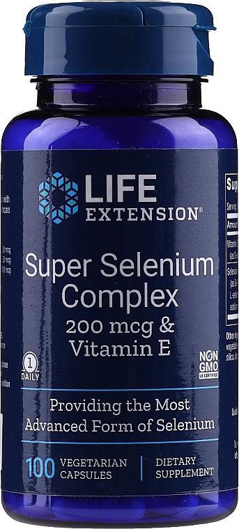 """Хранителна добавка """"Селен комплекс"""" на капсули - Life Extension Super Selenium Complex — снимка N1"""