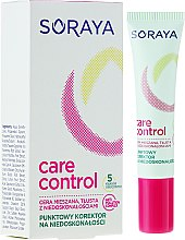 Парфюмерия и Козметика Коректор за лице - Soraya Care & Control Corrector