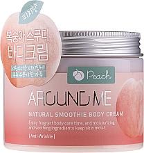 Парфюмерия и Козметика Крем-смути за тяло с праскова - Welcos Around Me Natural Body Smoothie Cream Peach