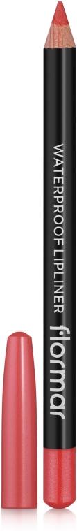 Водоустойчив молив за устни - Flormar Waterpoof Lipliner