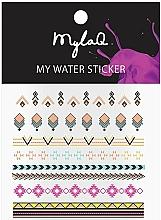 """Парфюмерия и Козметика Стикери за маникюр """"Азтек"""" - MylaQ My Aztek Sticker"""