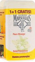 "Парфюми, Парфюмерия, козметика Комплект душ гел ""Портокалов цвят"" - Le Petit Marseillais (sh/gel/250ml + sh/gel/250ml)"
