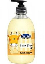 Парфюми, Парфюмерия, козметика Течен сапун - On Line Kids Time Liquid Soap Bubble Gum