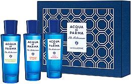Парфюмерия и Козметика Комплект - Acqua Di Parma Blu Mediterraneo Arancia Bergamotto Fico Collection Set (edt/30mlx3) (3x30 ml)