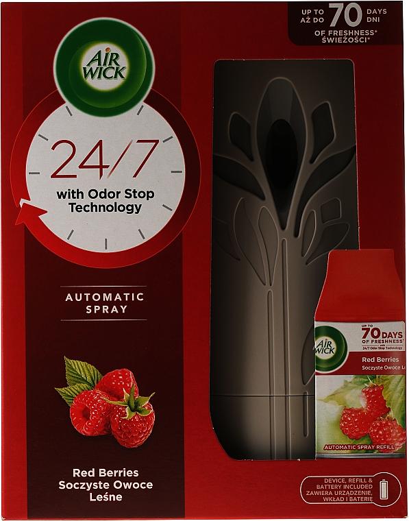 Автоматичен освежител за въздух - Air Wick Freshmatic Red Berries Juicy Forest Fruits — снимка N1