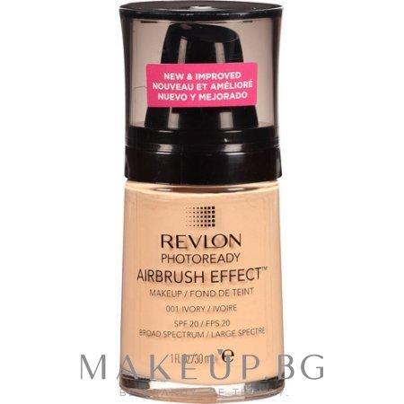 revlon photoready airbrush effect foundation fon do ten makeup bg