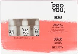 Парфюмерия и Козметика Възстановяващ бустер за увредена коса - Revlon Professional Pro You Fixer Repair Boosters