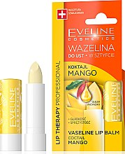 "Парфюми, Парфюмерия, козметика Балсам за устни ""Манго"" - Eveline Cosmetics Lip Therapy Proffesional Vaseline Lip Balm"