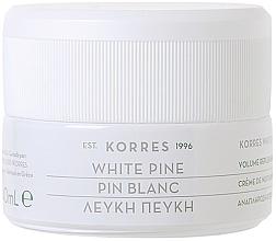 Парфюмерия и Козметика Нощен крем за лице против бръчки - Korres White Pine