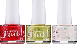 Парфюмерия и Козметика Комплект лакове за нокти - Snails Festive Mini (nail/polish 3 x7 ml)